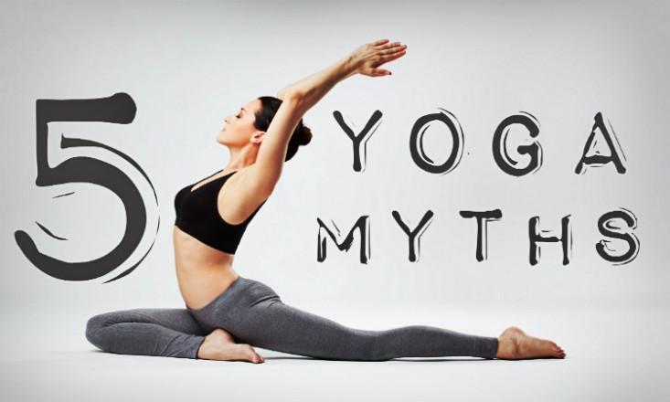 5 common Myths of Yoga heard often!